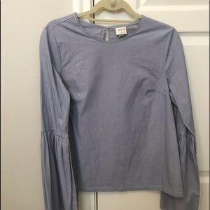 A new day bell sleeve blouse